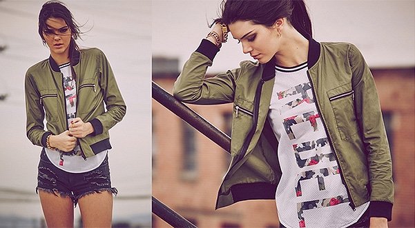 Kendall Jenner for clothing collection