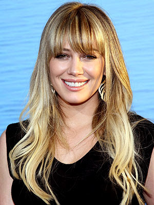 Hilary Duff Blonde Hair Color