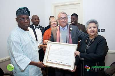 British queen Elizabeth II has olushegun Obasanjo, Kofi Anan, Dayo Israel at Commonwealth Africa Summit/Commonwealth Day Service 2016!