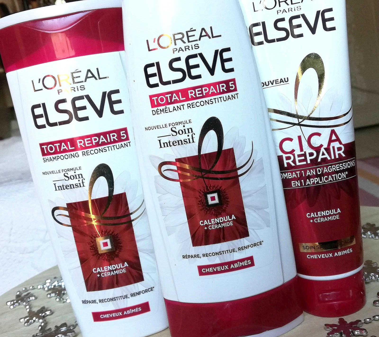 Elseve Total Repair 5 & le soin Cica Repair de L'Oréal