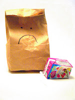 Image result for sad brown bag lunch