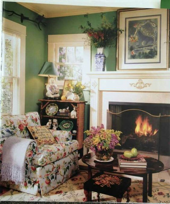 Eye For Design: Create Cozy English Cottage Rooms With ...