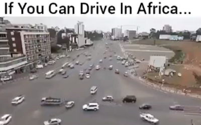 driving in africa