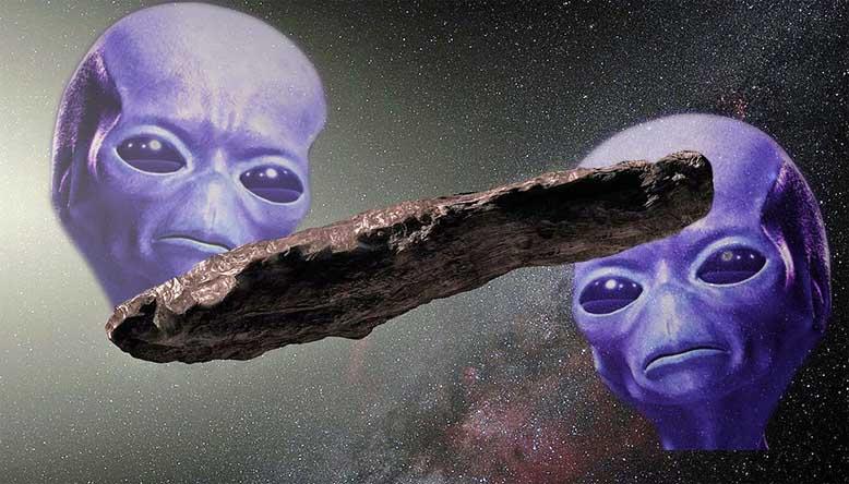 Ο πρώτος αγγελιοφόρος -  Αστρονόμος του Χάρβαρντ επιμένει ότι το Oumuamua είναι ένα σκάφος που έστειλαν οι εξωγήινοι