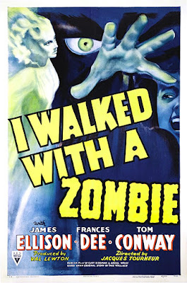 I Walked With A Zombie 1943 movie poster