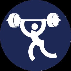 Icon Logo Angkat Besi Asian Games 2018