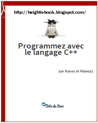 Télécharger Livre Gratuit Programmez avec le langage C++ pdf