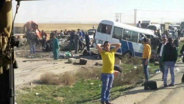 """بلأردن.. 7 وفيات و 9 اصابات بحادث سير مروع على طريق """" الصحراوي """""""