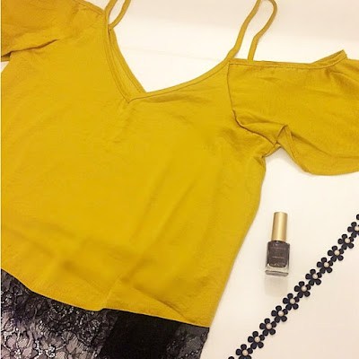 yellow cami