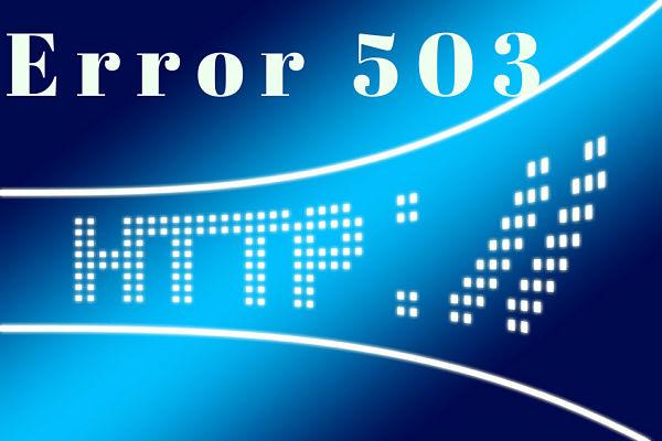 error 503 service unavailable que es