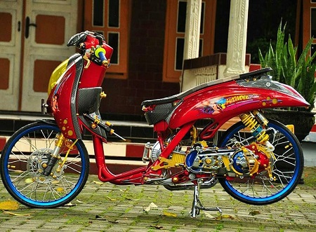 Modifikasi Honda scoopy thailokk