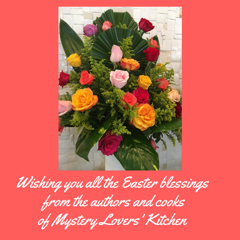 Mystery Lovers Kitchen Happy Easter
