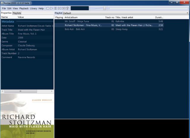 تحميل برنامج مشغل الاغاني للكمبيوتر مجانا Foobar2000