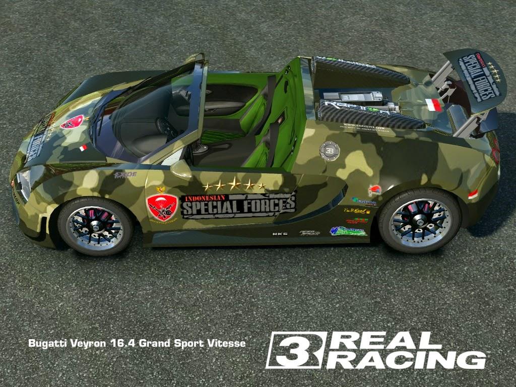real racing 3 mod skin livery vinly 2013 bugatti veyron gsv military bugatti veyron gsv. Black Bedroom Furniture Sets. Home Design Ideas