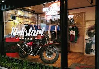 Kickstart Motor Cafe Segera Dibuka ..