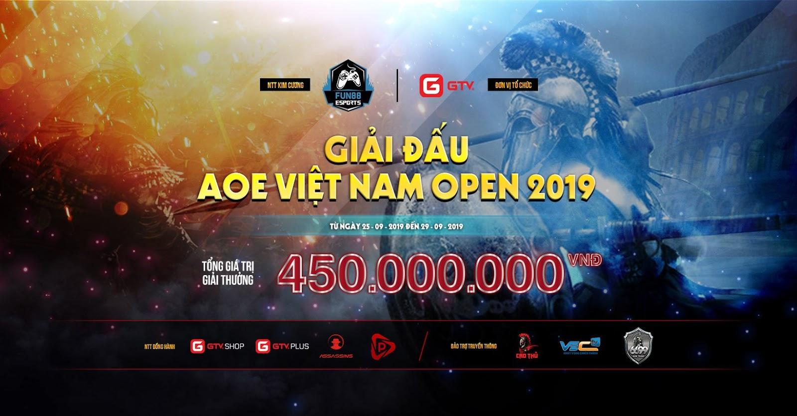 [AoE] AoE Việt Nam Open 2019: Giải đấu cuối cùng của AoE GameTV hay giải đấu đầu tiên của AoE Sparta?