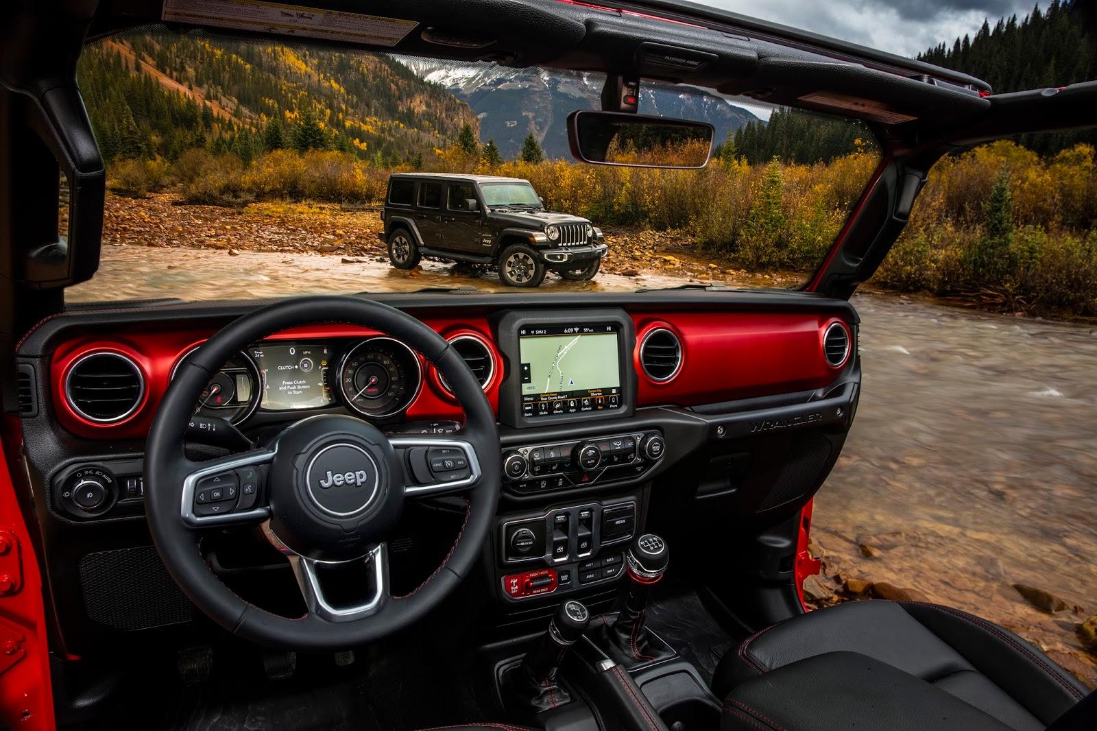 New Pics Next Generation 2018 Jeep Wrangler Powertrain