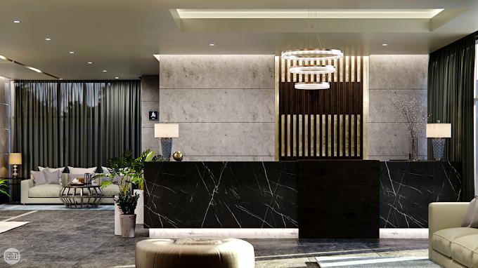 Apartment Lobby, Kuwait