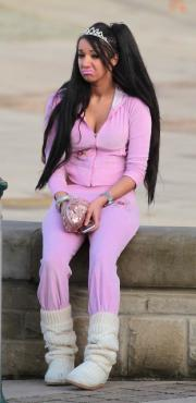 Chloe Mafia pink tracksuit chav