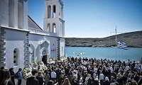 Θρήνος στην κηδεία του 52χρονου επιχειρηματία Αλέξανδρου Σταματιάδη (φωτο)