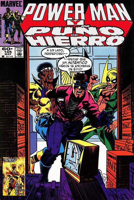 Powerman y Puño de Hierro #107 Traducido al Castellano