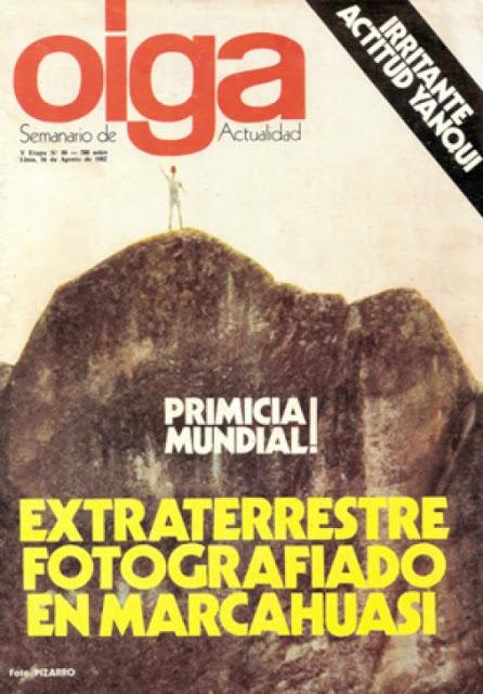 Portada de la Revista Oiga
