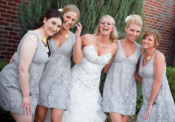 Lace Vintage And Rustic Bridesmaid Dresses Ideas