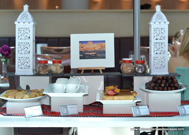 Arabic delicacies at Movenpick Dubai Brunch