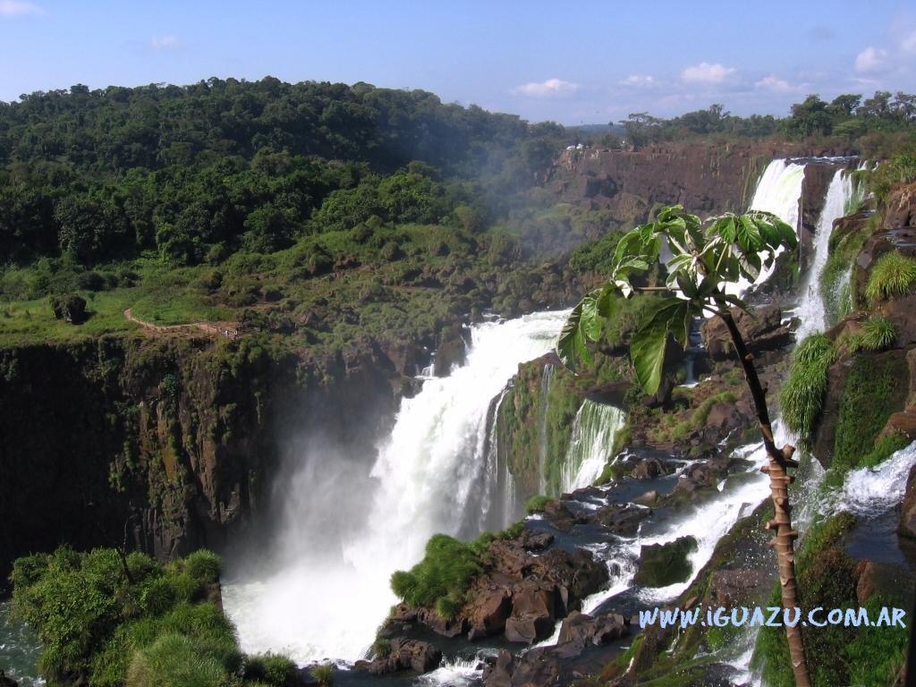 cataratas desde el Parque Nacional Iguazú