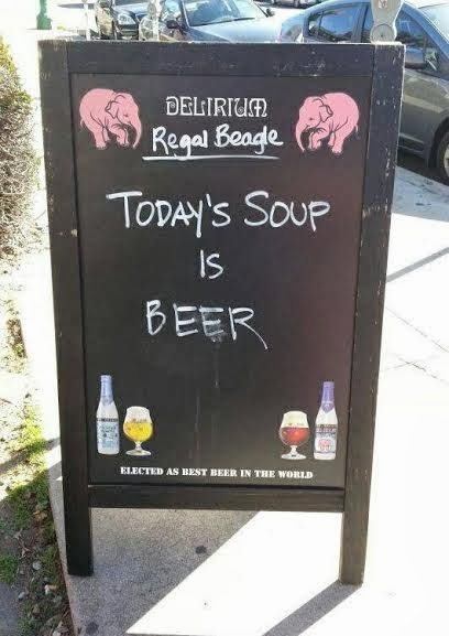 Beer or Soup?