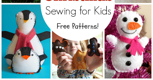 19 Free Kids Christmas Sewing Projects