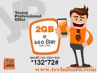 Banglalink 2GB internet data at only Taka 150