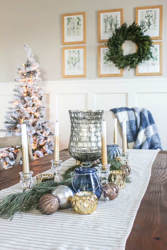 dollar store Christmas table ideas