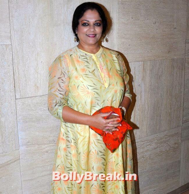 Tanvi Azmi, Marathi Actresses Pics from Music Launch of Marathi Film Lai Bhari - June 2014