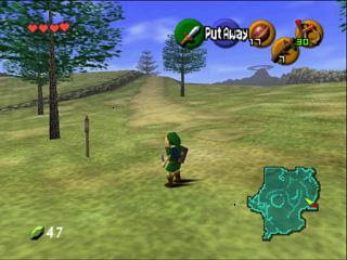 Download Legend of Zeida The Ocarina of Time game highly compressed for pC