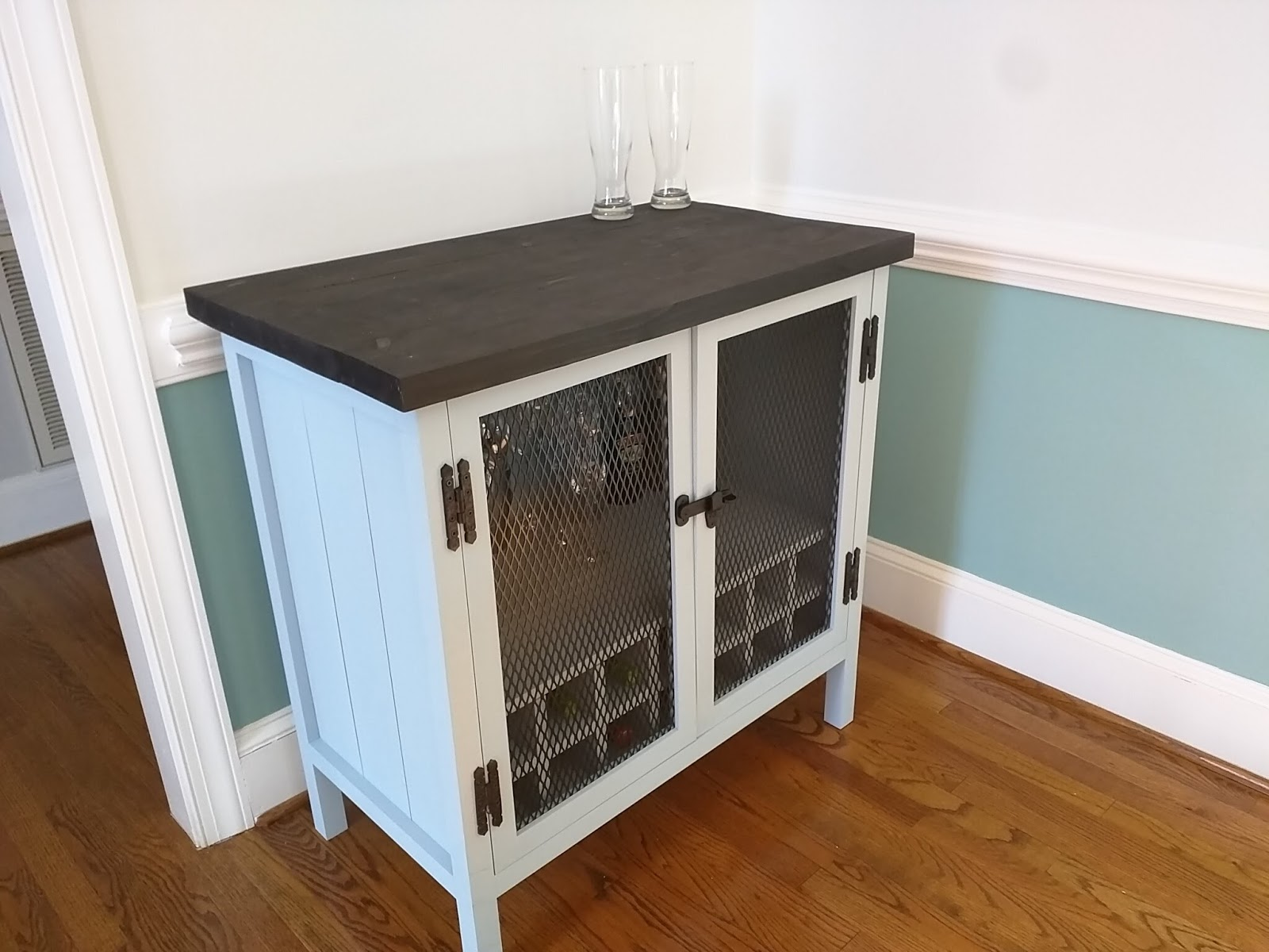 Diy Bar Cabinet Skipfeed