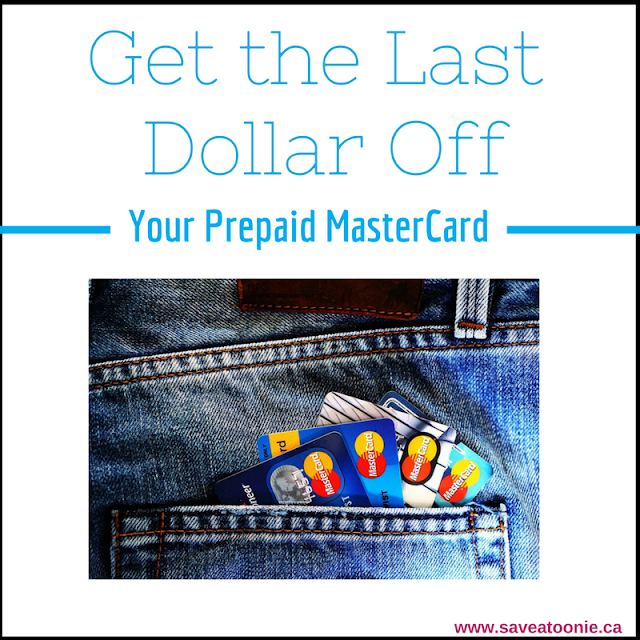 How to Get Every Last Dollar Off a Prepaid MasterCard