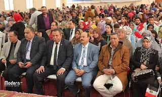 مشاركة المجلس العربى الدولى لحقوق الانسان احتفالية المجلس القومى للمرأة بمحافظة الفيوم