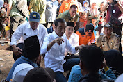 Kunjungi Korban Gempa, Presiden Ingatkan Masyarakat Harus Tetap Waspada