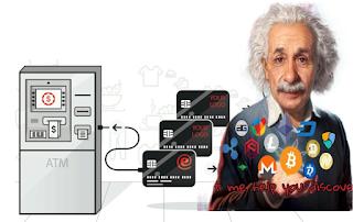 بطاقة ماستركارد البنكية لسحب رصيد العملات الرقمية من ATM للدول العربية