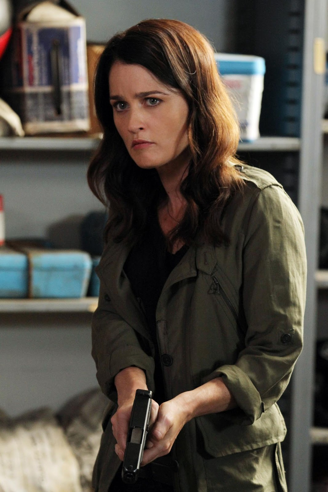 THE MENTALIST ***NEW SERIES*** | RTÉ Presspack |Robin Tunney The Mentalist