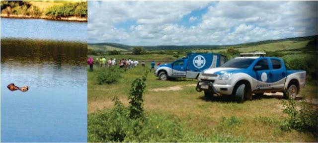 Tanhaçu: Homem é encontrado morto dentro de Lagoa na Zona Rural