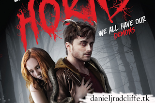 Horns: UK DVD & Blu-ray artwork
