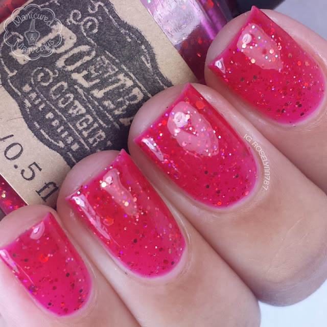 Poetry Cowgirl Nail Polish - Santa's New Suit