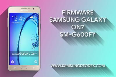 FIRMWARE SAMSUNG G600FY