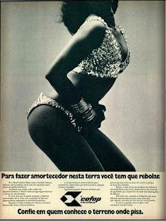 propaganda amortecedores Cofap - 1973, cofap anos 70, amortecedores década de 70. Oswaldo Hernandez,
