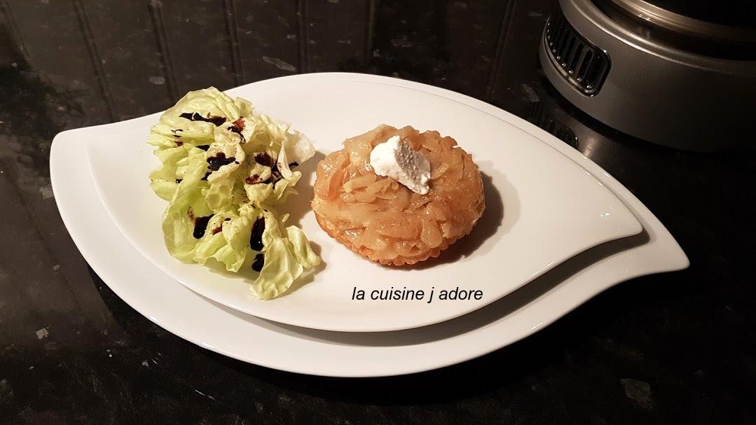 Recette De Moussaka De Cyril Lignac la cuisine j adore : tarte tatin au chevre et aux oignons ( recette
