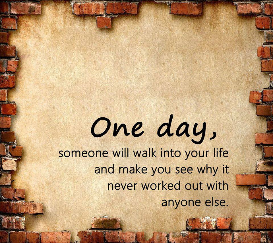Sad I Miss You Quotes For Friends: One Day, Love Will Find You