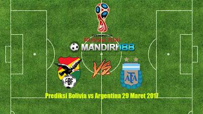 AGEN BOLA - Prediksi Bolivia vs Argentina 29 Maret 2017