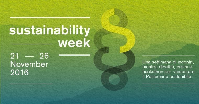 1ª polito sustainability week: la sostenibilitÀ protagonista a torino